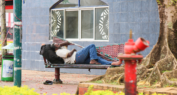 Homeless By Choice: Busy City Streets By Day Turn To Sleeping Ground At Night