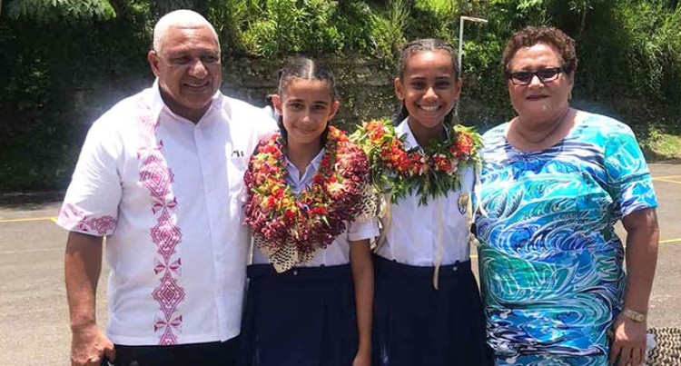 Girls' Achievement Makes Grandparents Proud
