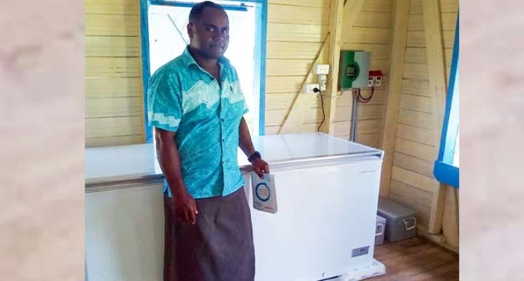 Solar-Powered Freezer Boosts Fishers' Source of Income