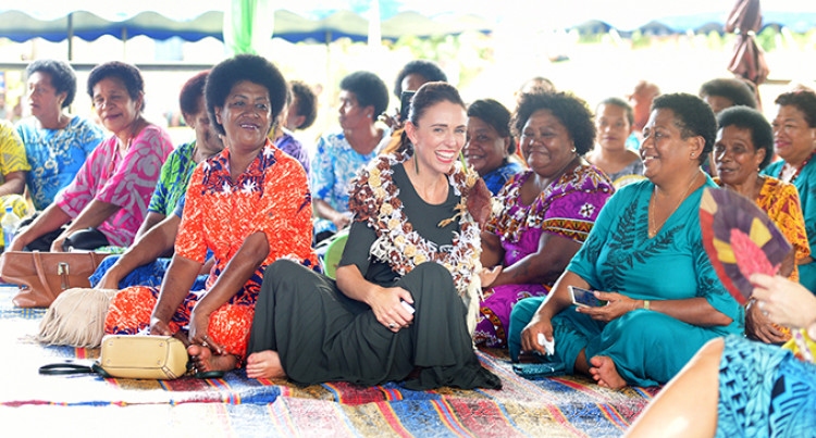Jacinda Ardern Is An Inspiration To Fijians, Particularly Women, Girls