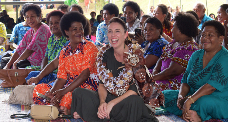 New Zealand's Prime Minister Jacinda Ardern Official Fiji Tour: Day 2