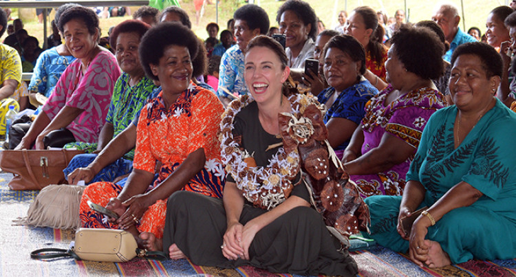 Jacinda In Fiji: I'll Be Back Says New Zealand Prime Minister