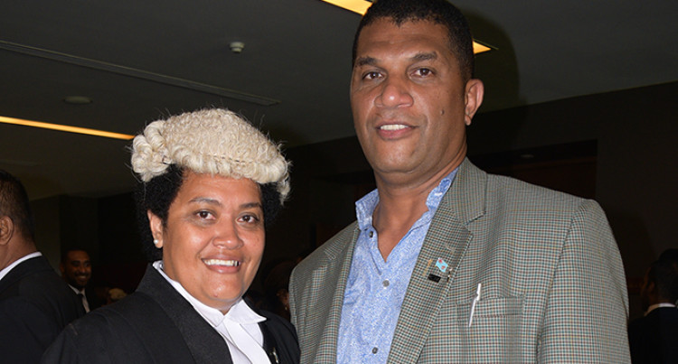 Sainiana Radrodro Officially A Lawyer