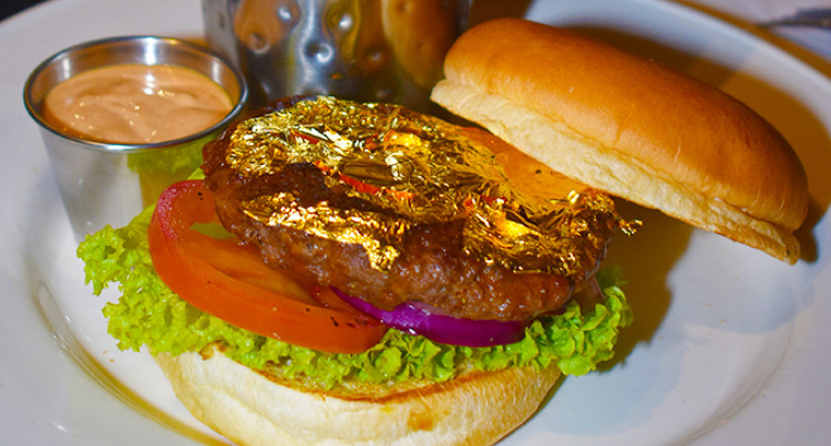 Hard Rock Cafe Introduces 24-Karat Gold Leaf Steak Burger And New Menu