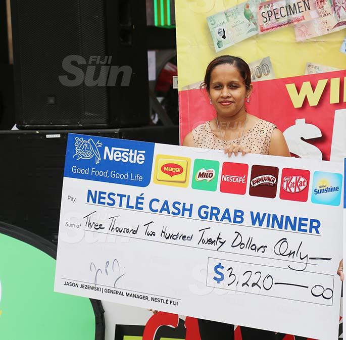 Winner, Vijeshni Singh. Photo: Kelera Sovasiga.