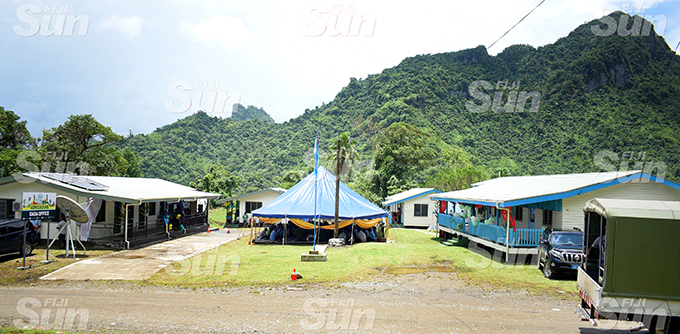 Namosi Government Station at Dada in Namosi after it was opened by Prime Minister Voreqe Bainimarama on February 4, 2020. Photo: Ronald Kumar.