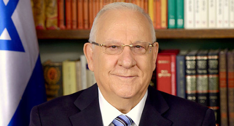 Israeli President To Arrive On Thursday