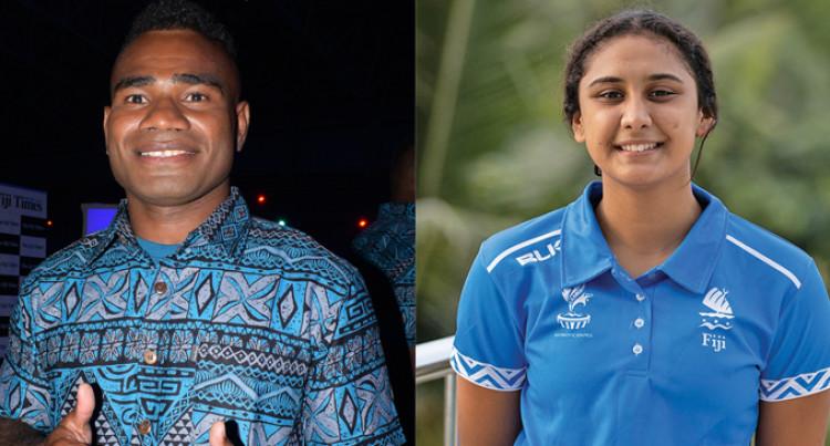 Jerry Tuwai And Moana Wind, Fiji's Sportsman and Sportswoman Of the Year