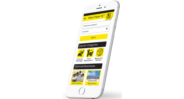 'Yellow Pages Fiji Mobile App' Now Available For Download