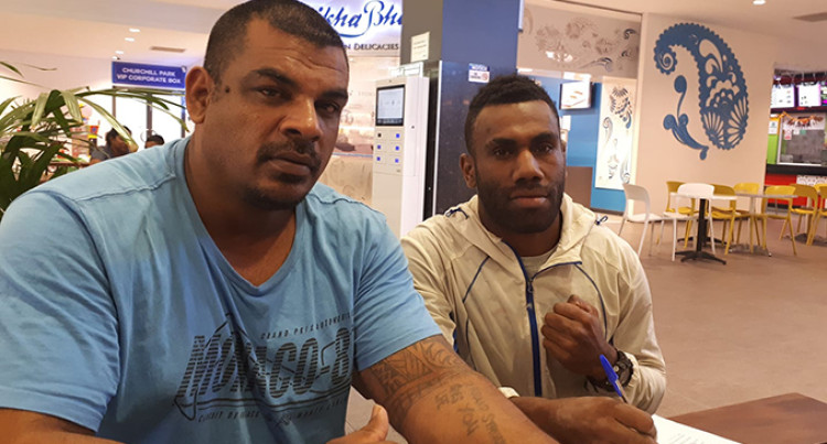 Naliva To Fight Thai Strongman