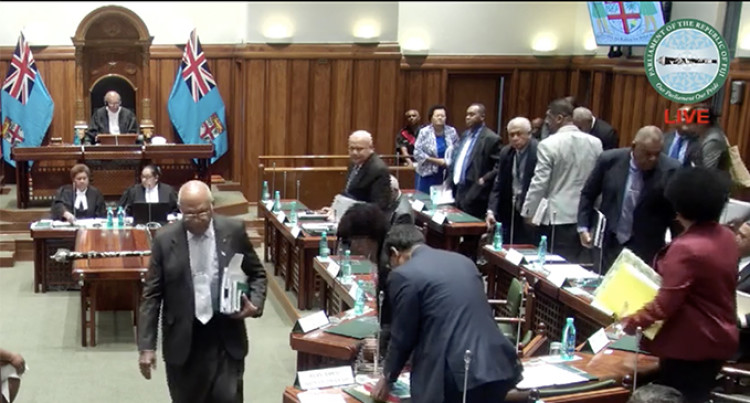 Opposition MPs Stage Walkout After Speaker's Ruling On Mining Petition