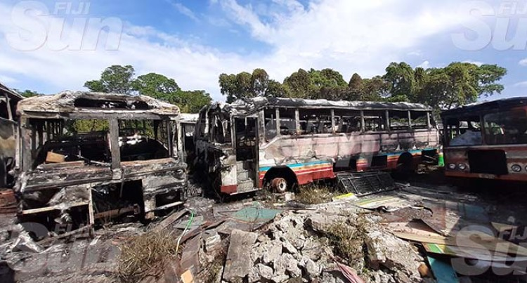 Authority Acts Swiftly To Douse Fire On Four Derelict Buses