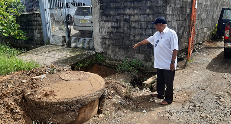 Nadera Homes Subjected To Sewage During Floods