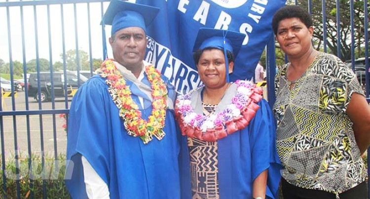 Paulo Scoops First Family Degree