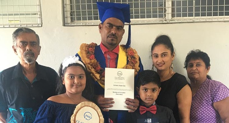 My Wife, My Pillar Of Strength: FNU Graduate