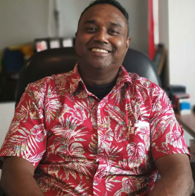 Fiji Bandag Pte Ltd general manager Lawrence Robert. Photo: Lusiana Tuimaisala
