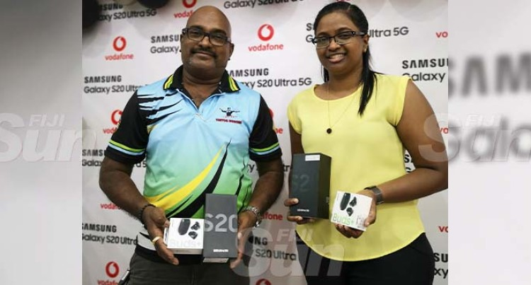 Vodafone Fiji Launches Pacific's First Samsung S20 Ultra 5G Phones