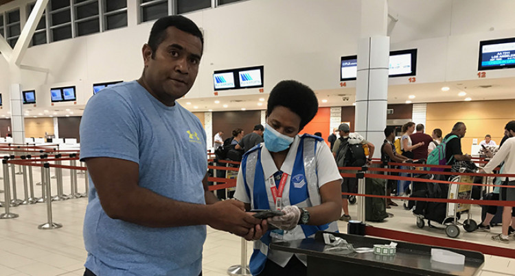 Fijian In US Promises To Return, Two Fijians Returning Glad To Be Home