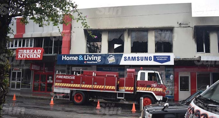 Fire Destroys Four Business Outlets In Nadi