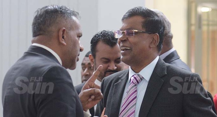 Government MP Koya Exchanges Stern Words With NFP Leader Prasad
