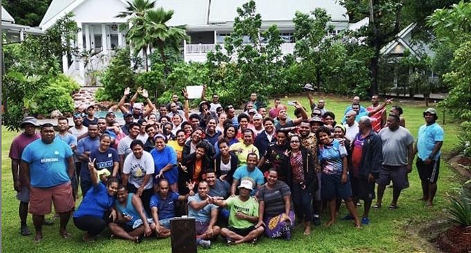 Malolo Island Resort staff.