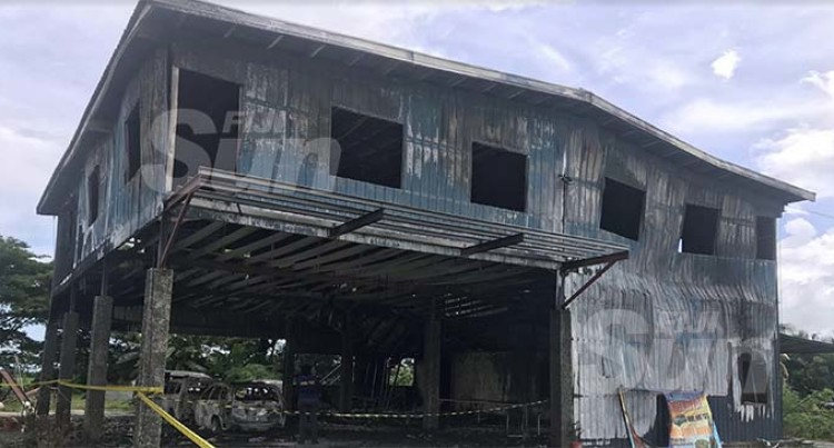 Early Morning Fire Destroys Lautoka Warehouse