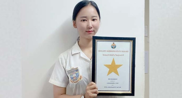 Hard Work Will Never Betray, Says Young Korean Student