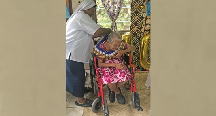 Father Law Home Celebrates Mary Fong's 100th Birthday