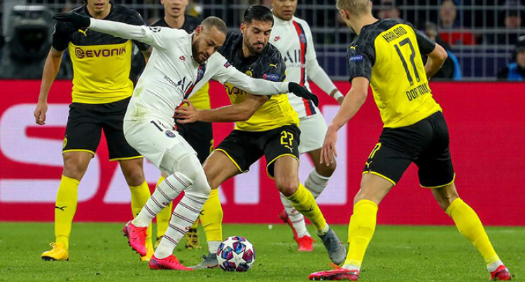 Coronavirus Forces PSG-Dortmund Match Behind Closed Doors