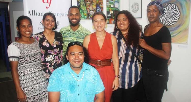 New Fijian Artists Exhibit Talent, Skills