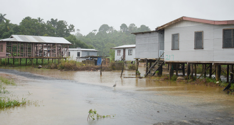 Flash Flooding In Nausori, Waidamudamu