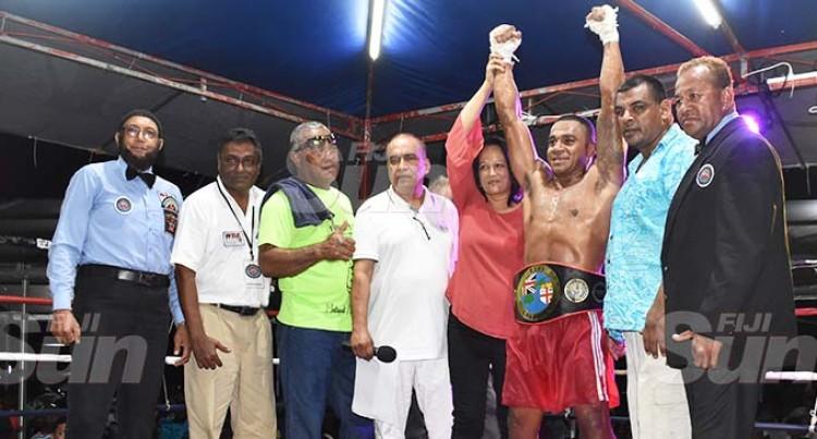 New Cruiserweight Champ Honours Dad