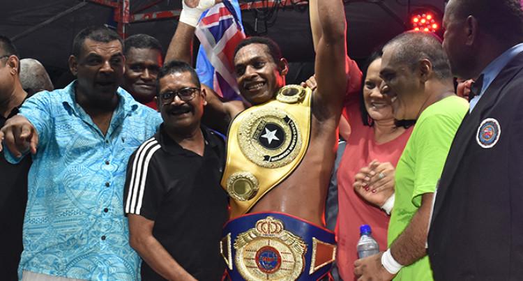 Fijian Light Heavyweight Champion Savenaca Naliva Targets WBU Fight In New Zealand