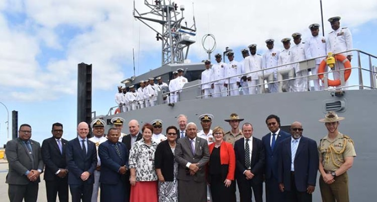 PM, Delegation Receive Our New Navy Vessel