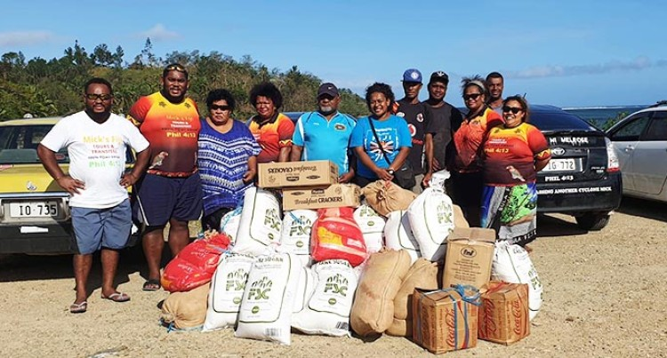 Mick's Fiji Assists Vatulele Villagers Affected By TC Harold