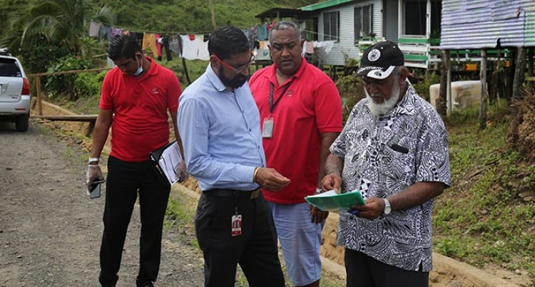 Fiji National Provident Fund Staff Visit Members' Homes To Verify Damage Before Assistance