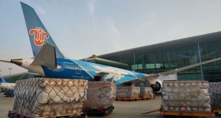 Hubei Sends Medical Supplies To New York
