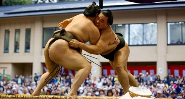 Japan's Traditional Sport Sumo Hit By Six More Coronavirus Cases