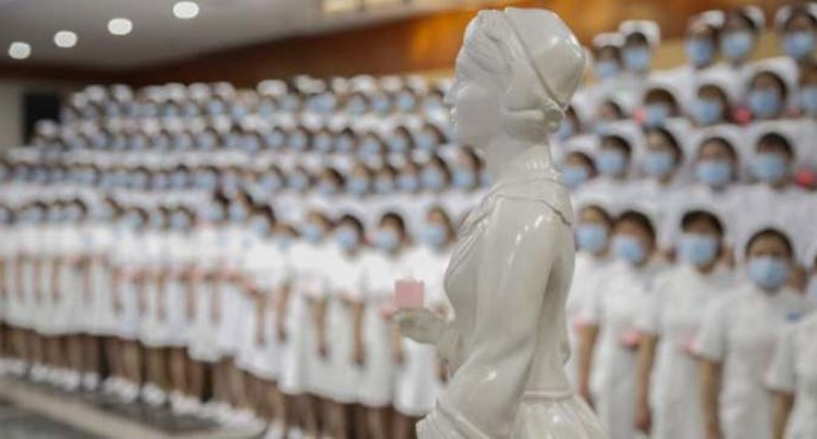 Ceremony Held In Beijing To Mark The 200th Birth Anniversary Of Nightingale