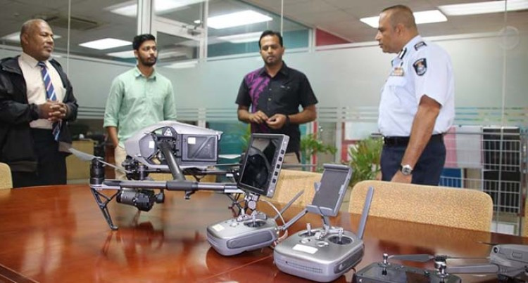 COVID-19: Drone Used To Monitor Movement Along Waterways