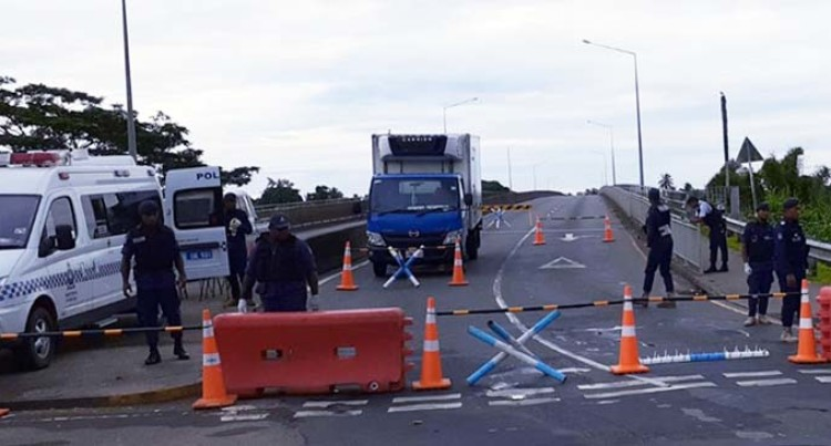 COVID-19: Roadblocks Erected At Three Entry Points To Suva