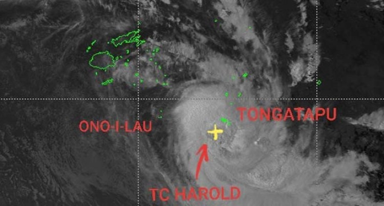 Cyclone Harold Sailed Out Of Fiji Shores Early Hours Of This Morning