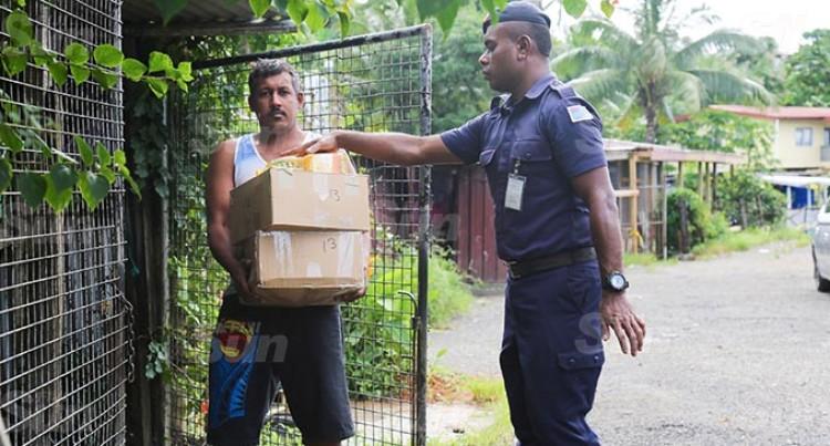 Family Residing In Nabua Settlement Thankful For Donation