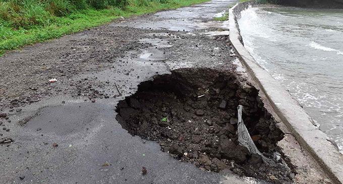 Cavity at Ovalau Circular Road