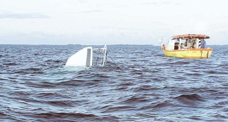 A 52-Year-Old Police Officer's Body Recovered From A Boat Capsized Near Toberua Island