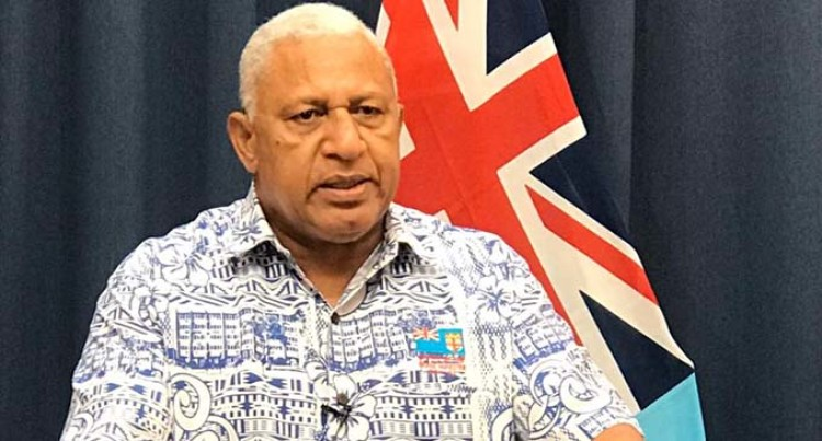 Prime Minister Voreqe Bainimarama: Behave Or Lockdown Will Not Be Lifted