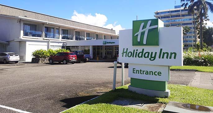 Holiday Inn.