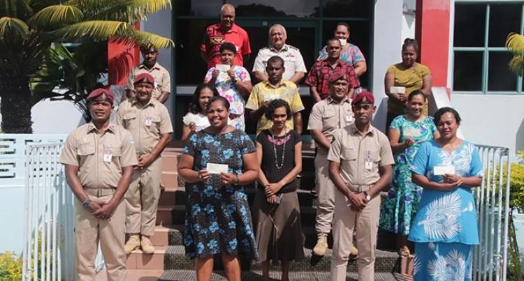 Fiji Corrections Service Donates To 10 Families