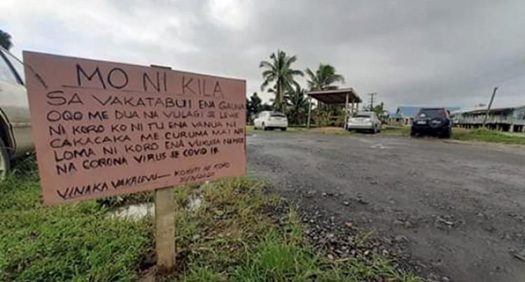 Nabouciwa Village Closes Its Borders