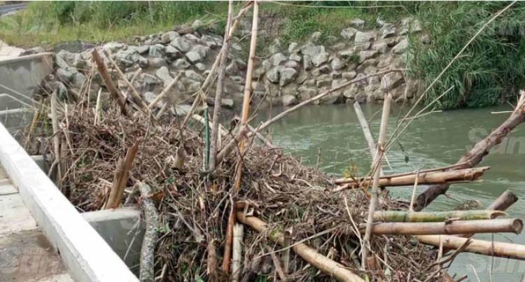 Residents Of Korotari Crossing In Labasa Worried About Flooding After Cyclone Harold Leaves Debris